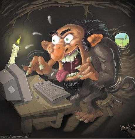 Trolls are always hungry. Do Not Feed!